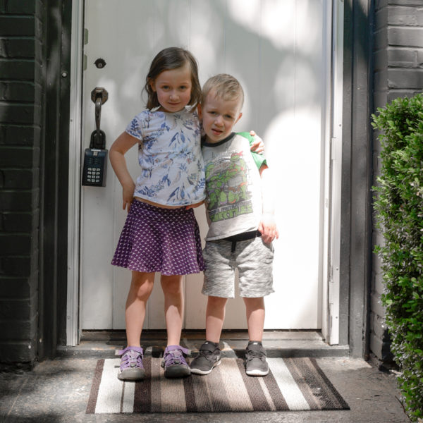 house hunting with kids